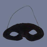 Black Masquerade Doll Mask