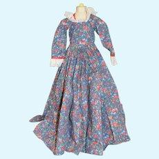 Sweet Doll Dress Floral W/ Lace Trim