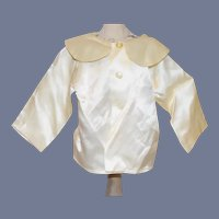 Vintage Doll Button Up Peter Pan Collar Shirt