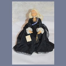Vintage Doll Hand Made Devereux Mary Queen of Scots Portrait Doll