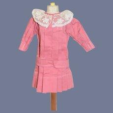 Sweet Vintage Doll Dress French Market Drop Waist Belt