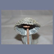 Wonderful Doll Bonnet Ornate French Market Petite Fashion Doll