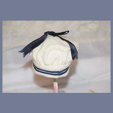 Vintage Doll Sailor Cap Hat