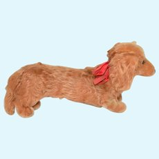 "Sweet Stuffed Gold Coat Dachshund ""Weiner"" Dog"