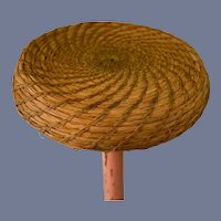Nicely Woven Straw Doll Hat