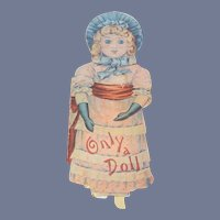 Only a Doll Book by Helen Marion Burnside