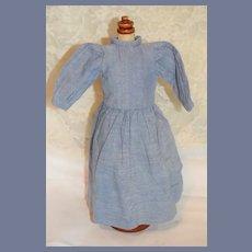 Blue Jean Doll Dress