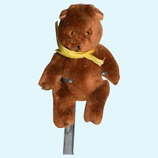 Miniature Brown Stuffed Bear