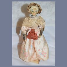 Old Doll Martha Washington Wife of George Washington Saroff Original English Character Doll