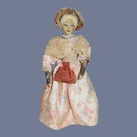 Old Doll Martha Washington Wife of George Washington Saroff Original English Character Doll