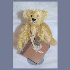 Sweet Teddy Bear Morris Michtom American Teddy Bear W/ booklet & Metal Tag