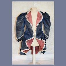 Vintage Velvet Doll Jacket Fancy French Market