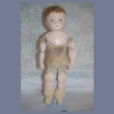 Antique Martha Chase Petite Size Sweet Oil Cloth Doll