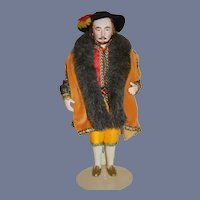 Wonderful Artist Doll King Henry VIII Character Doll