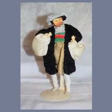 Vintage Doll Artist Henry VIII Wonderful Period Clothing