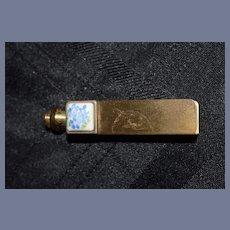 Miniature Gold Address Book Case