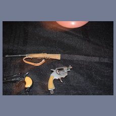 Set of Three Miniature Guns