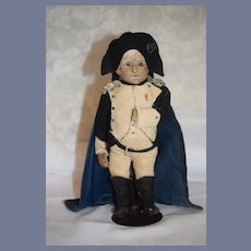 Antique Doll Napoleon Doll In Period Costume