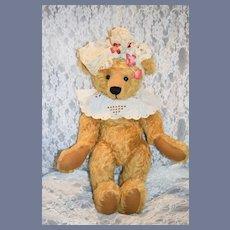 Vintage Teddy Bear Mohair Jointed Dressed Artist