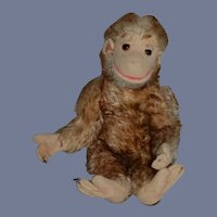 Vintage Doll Monkey Mohair Unusual Sweet Jointed