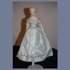 Vintage Doll Artist Lorraine Defeng Beautiful Sculpted Hair