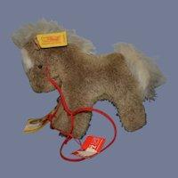 Vintage Sweet Horse Steiff Stompy Button Tag Chest Tag FAO Schwarz Tag Petite