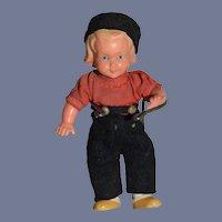 Little Plastic Boy Doll