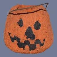 Miniature Jack-o'lantern Pumpkin Bucket