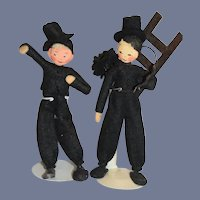 Wonderful BAPS Doll Dolls Miniature Chimney Sweepers Dollhouse Miniature