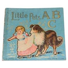 Old Little Pets A B C De Wolfe Fiske & Co. Petite Book Children's Doll Book