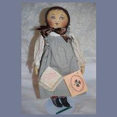 Vintage Cloth Doll Rappahannock Rags Columbian Centennianl 1993