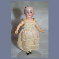 Antique Miniature Simon Halbig Bisque Doll Dollhouse