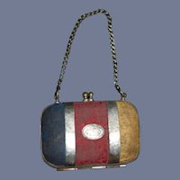 Antique Miniature Doll Purse For Fashion Doll