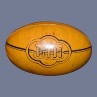 Miniature Tin Painted Football