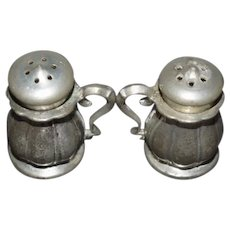 Miniature Silver Salt And Pepper Shakers