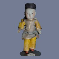 Miniature Japanese Bisque Doll