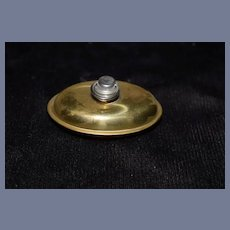 Miniature Brass Bed Warmer
