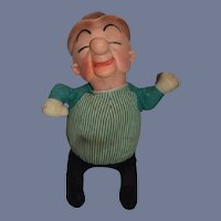Vintage 1962 UPA Pictures Mr Magoo Vinyl Head And Cloth Body Doll 15 inch