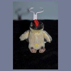 Vintage Doll Size Miniature Penguin Steiff Mohair
