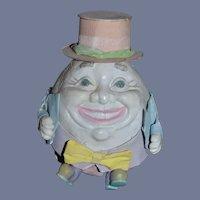 Unusual Character Humpty Dumpty Papier Mache