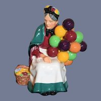 The Old Balloon Seller H.N. 1315 Figurine Balloon Lady Royal Doulton