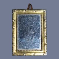 Dollhouse 2.75 by 1.75 inch Miniature Mirror