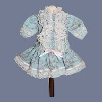 Sweet Doll Dress Mignonette Size Hand Made Petite