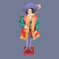 Wonderful Vintage SAROFF Character Doll Christopher Columbus W/ Original Tag