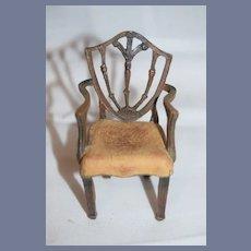 Sweet Doll Dollhouse Fancy Arm Chair Unusual