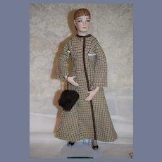 Vintage NELLIE BLY By Muriel Kramer Artist Doll  Signed 1981
