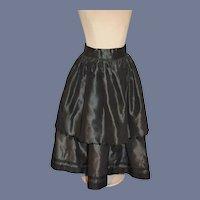 Vintage Gorgeous Doll Skirt Bead Beads Fashion Doll Fancy Trim