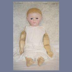 Wonderful Huge 28 inch Ella Rollinson Oil Cloth Doll