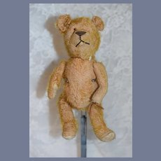 Old Teddy Bear Jointed Mohair TLC Charming