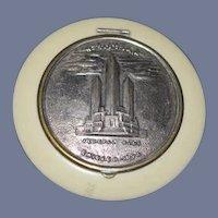 Vintage Compact Chicago World's Fair 1934 Vanity Item